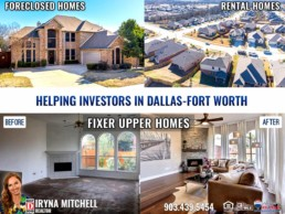 Iryna Mitchell - Realtor Helping Investors in Dallas-Fort Worth