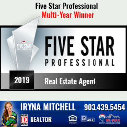 Iryna Mitchell - Top Producing DFW Realtor Won Five Star Professional Award