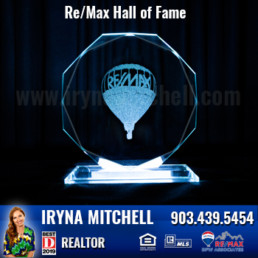 Iryna Mitchell - Top Producing DFW Realtor Won Hall of Fame Award