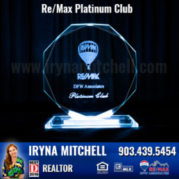 Iryna Mitchell - Top Producing DFW Realtor Won Platinum Club Award