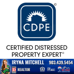 Iryna Mitchell - Top Producing DFW Realtor is Certified Distressed Property Expert