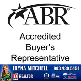 Iryna Mitchell - Top Producing DFW Realtor is certified Accredited Buyers Representative