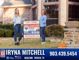 Selling your House in DFW area? Contact Iryna Mitchell - Top Realtor at REMAX-DFW Associates at 903-439-5454