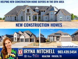 Iryna Mitchell - Top-Producing Realtor Helping New Construction Home Buyers in Dallas-Fort Worth
