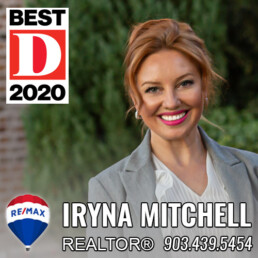 Iryna Mitchell -Dallas-Fort Worth Top Producing Realtor at REMAX DFW Associates